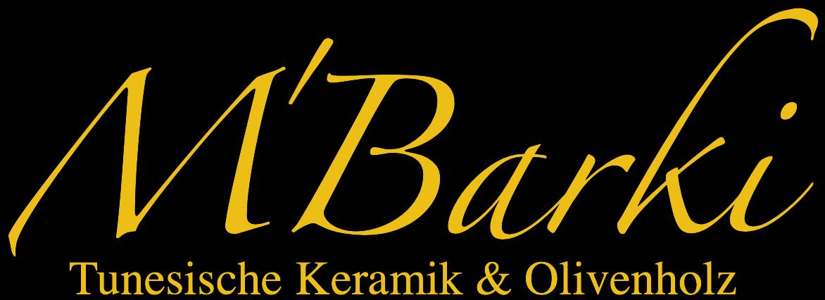 www.mbarki.de Tunesische Keramik & Olivenholz-Logo